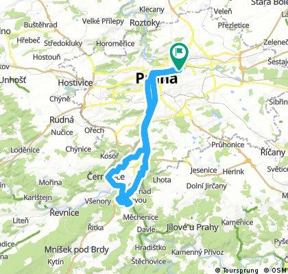 Podél pražských řek