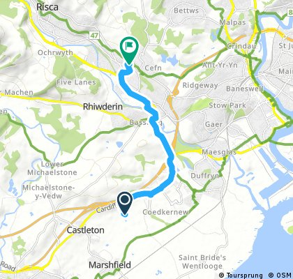 Quick ride from 17 September, 16:47