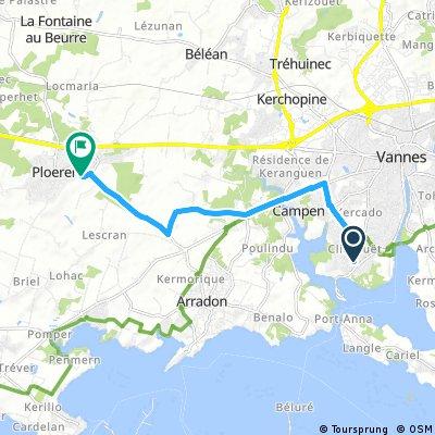 Brief bike tour from 17 septembre à 17:45