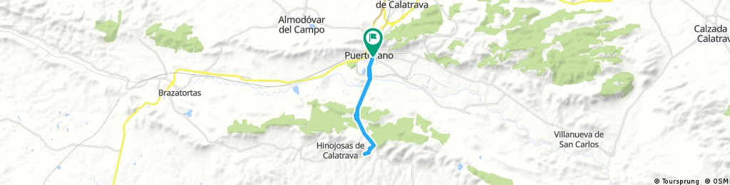 bike tour through Puertollano