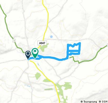 Turriff MTB Route