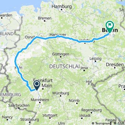 every year - 2000 - Politische Radtour von Mainz nach Berlin