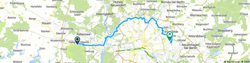 1. Tour Dallgow-IGA 62 km