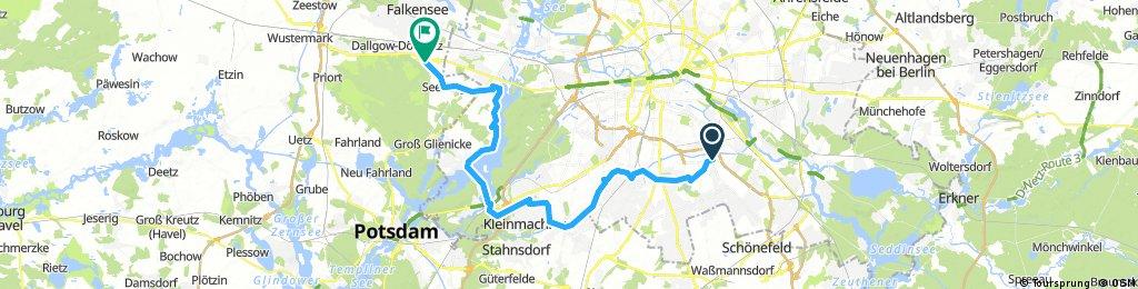 3. Tour Neukölln-Dallgow 54 km
