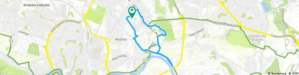 Brief bike tour through Kraków 2