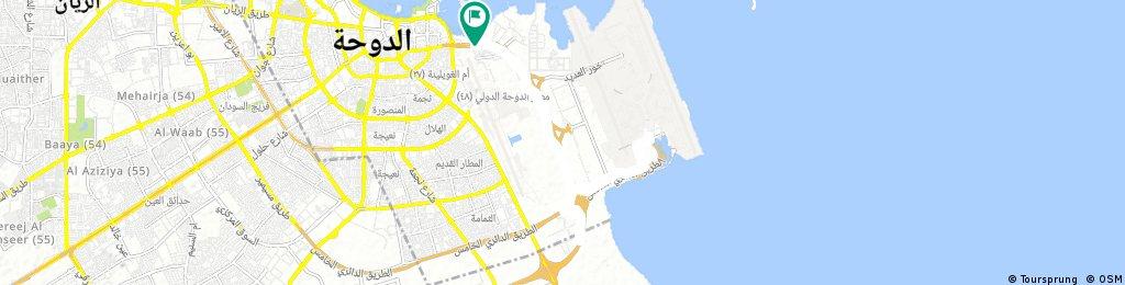ride through Doha