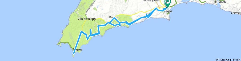 Lengthy bike tour through Lagos