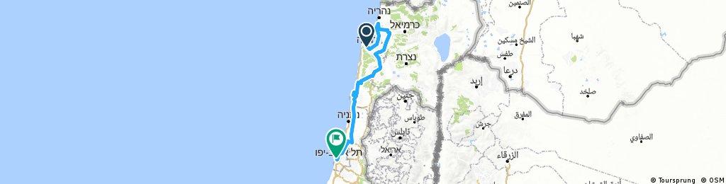 Giro Stage 2 (Haifa - Tel Aviv)
