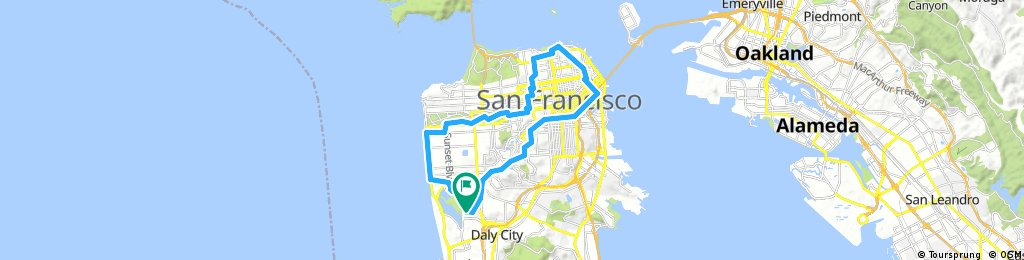 San Francisco Saturday loop #1