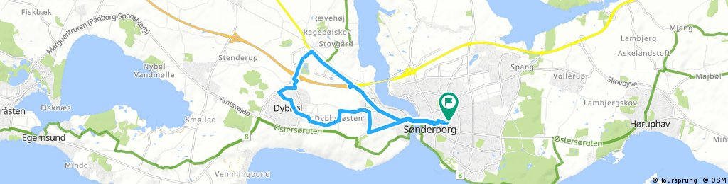 bike tour through Sønderborg