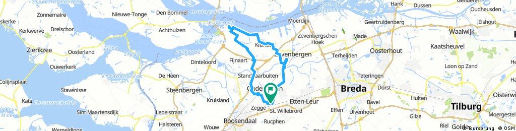 Wereldfietserweekend 30-9, 50 km