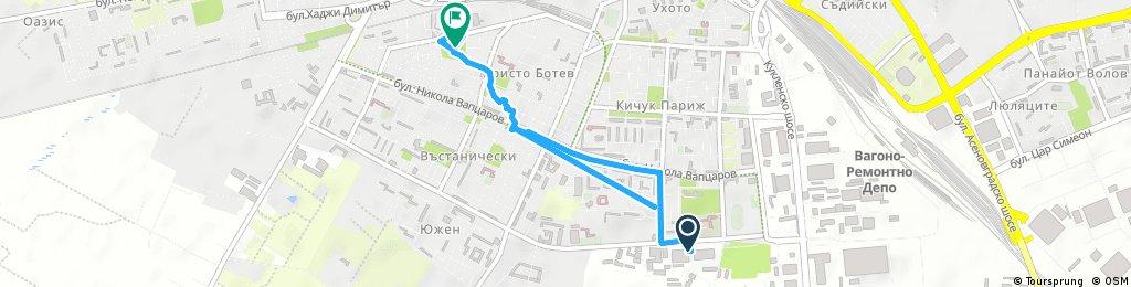 Quick ride through Plovdiv