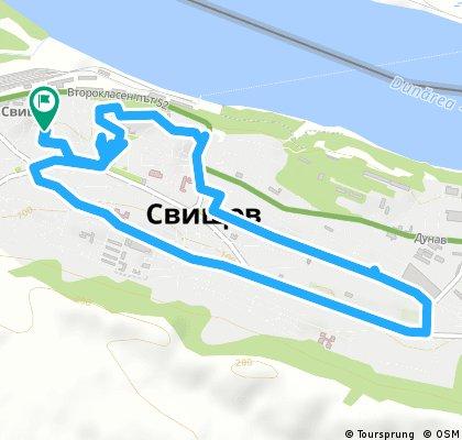 Quick bike tour through Svishtov municipality