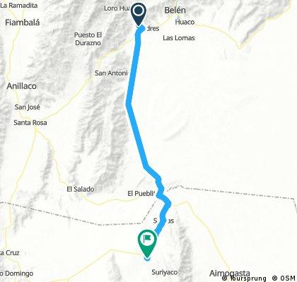 Long bike tour through Pituil
