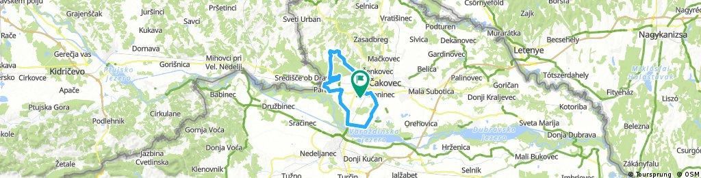 Biciklijada Nedelišće 24.09.2017 - duža staza