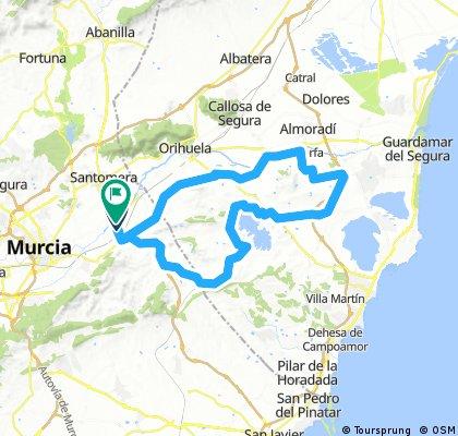 40- Zeneta-Algorfa-Fuente-Solitario-Mercao-Vistabella-Torremendo-El Pino