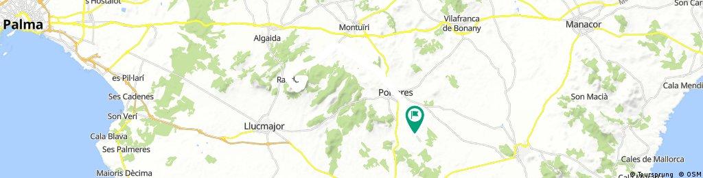 ES Porreres - über Randa zum Kloster Santuari de Cura