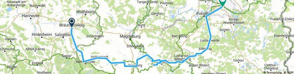 DDR-Fahrt nach der DM-Einführung