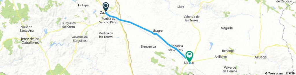 2017 - Spanien 1. Tag - Zafra - Llerena