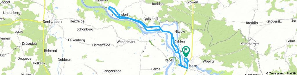 Lange Ausfahrt durch Havelberg