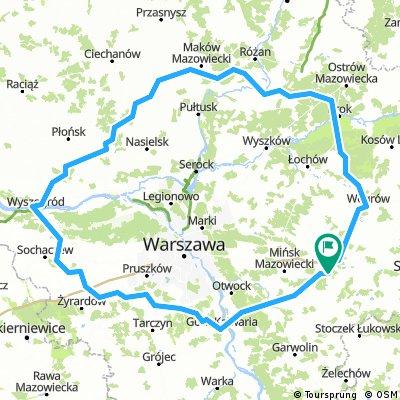 Pętla wielka Wa-wa 400 km