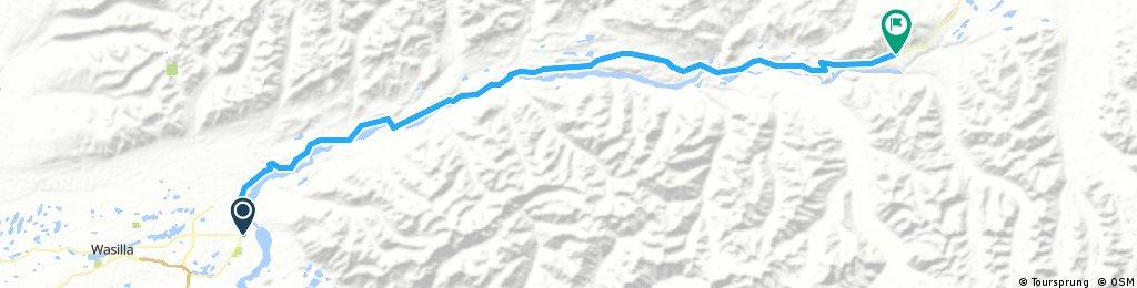 Sheep mountain to Palmer