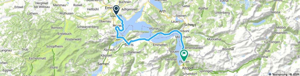 Luzern - Fluelen