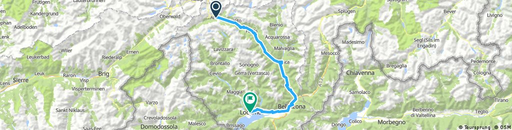 Airolo - Giubiasco (Locarno)