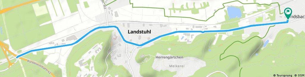 ride through Kindsbach