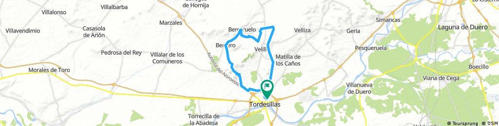 Tordesillas-Bercero-Tordesillas