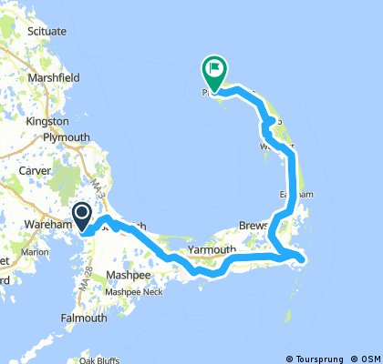 Sandwich to Provincetown