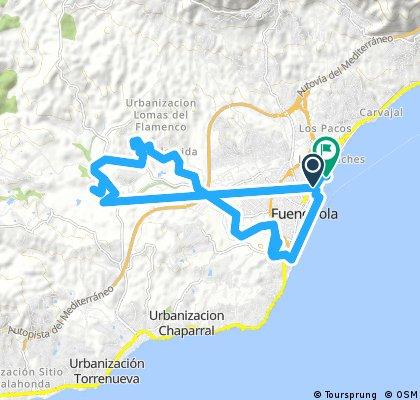 bike tour through Fuengirola