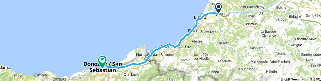 J013 - 12 Juin - Bayonne to San Sebastian (ok)