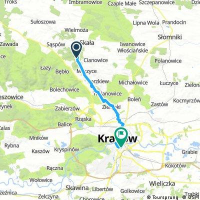 ride through Krakow