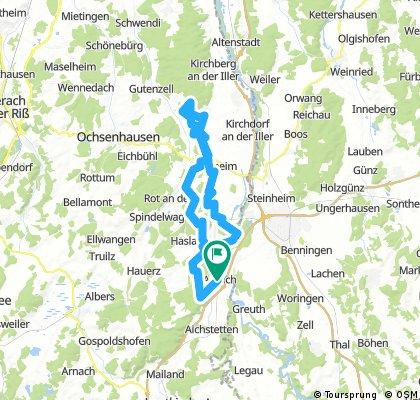 Aitrach - Erolzheim - Aitrach