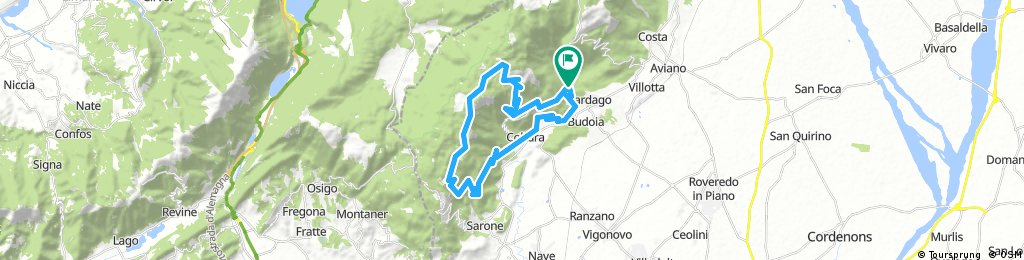 Anello Dardago -Cultura- Malga Pizzoc, Mezzomonte- Dardago