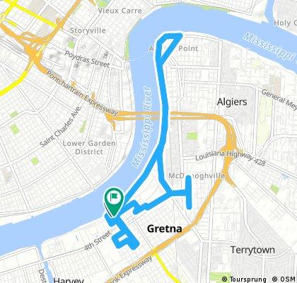 ride through Gretna