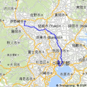 Cycling Routes And Bike Maps In And Around Isesaki Bikemap - Isesaki map