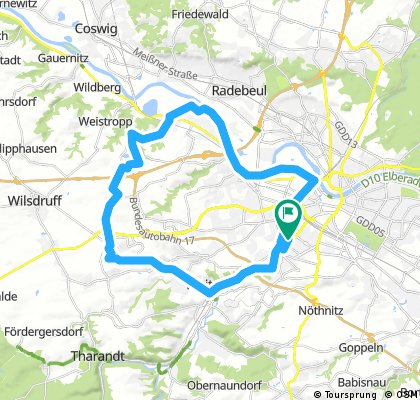 Jubiläumstour Tandem - 35 km
