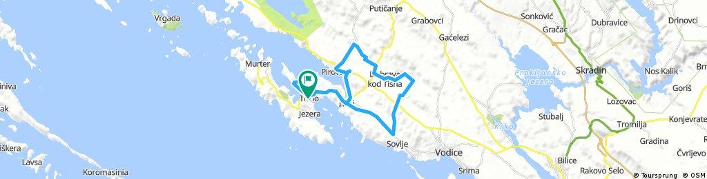Sovlje - Dubrava - Pirovac