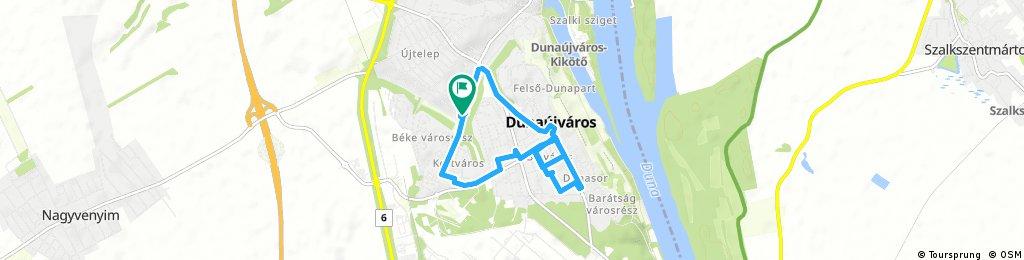 Brief ride through Dunaújváros