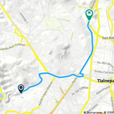Brief ride through Tlalnepantla