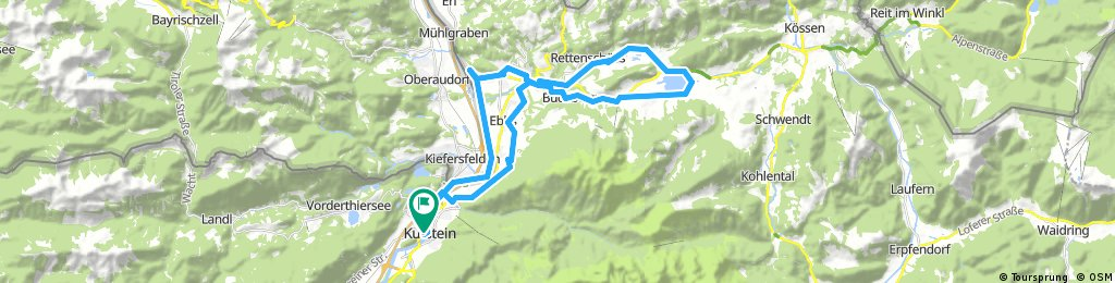 Loop from Kufstein and back