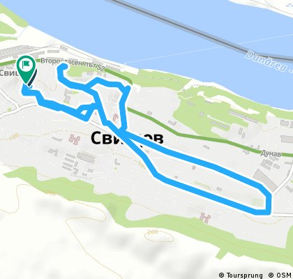 Brief bike tour through Svishtov municipality