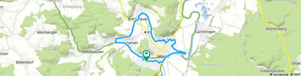 Rundfahrt - Hx-Lütmarsen-Brenkhausen-Corvey-Hx