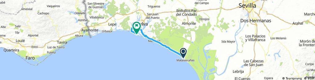 PWT-2017_E01: Matalascañas-Punta Umbría