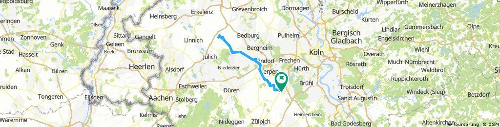 zur Tour de France Strecke