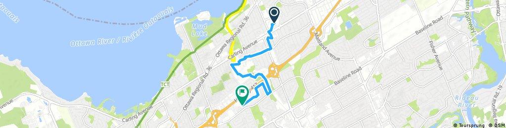 Short ride through Ottawa