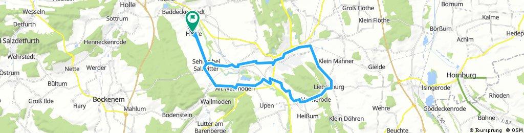 Bezirkswanderfahrt nach Liebenburg.23.09.2017