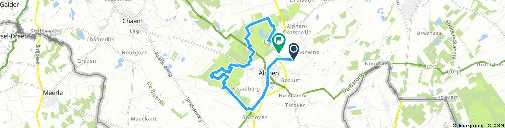 ride through Alphen